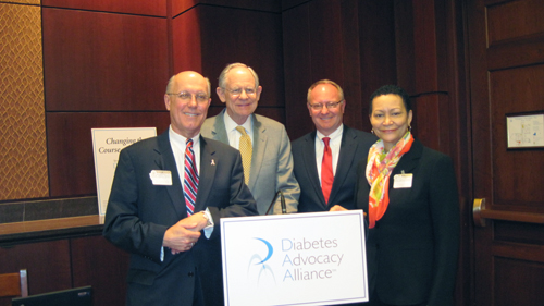 DAA holds Changing the Course of Diabetes policy briefing on Capitol Hill